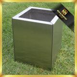 Kundenspezifischer quadratischer im FreienEdelstahl-Pflanzer-Kasten