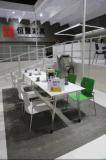 Mesa de centro rectangular del restaurante del acero inoxidable del diseño moderno