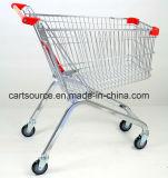 Einkaufen-Laufkatze-Karre der Rad-100L 4 europäische