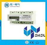 Digitalanzeige LÄRM Schienen-statisches Energie-Messinstrument-elektronisches KWH-dreiphasigmeßinstrument-intelligente elektrischer Strom-Messinstrument-Wattstunde 12V LCD-