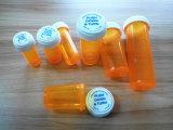 Botella plástica plástica de la medicina de la botella de píldora de los frascos de la medicina