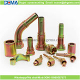 Hydraulische Gummischlauch-Befestigungs-hydraulische Rohrfitting-Kohlenstoffstahl-Rohranschlüsse