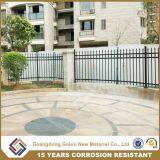 La meilleure qualité de la sécurité enduit de poudre Retro le fer de lance de la conception de clôture de jardin