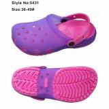 Impedimenti dentellare Funky dei sandali della donna della gelatina di EVA con la tomaia del PVC