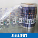 다채로운 인쇄 투명한 플라스틱 자동 접착 레이블을 주문 설계하십시오