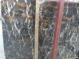 Oro di marmo di Portoro delle lastre di alta qualità