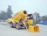 De Mobiele Zelf Concrete Mixer van uitstekende kwaliteit van de Lading met Pomp