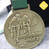 Medaglie correnti del ricordo di maratona del buon di Quaility trofeo Bronze su ordinazione della polizia