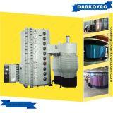 Máquina inoxidable de la vacuometalización de los productos de acero