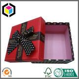 Rectángulo de papel de color de la impresión del regalo de encargo pequeño de la joyería