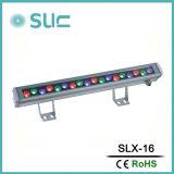 Arruela de parede LED com mudança de cor da luz exterior