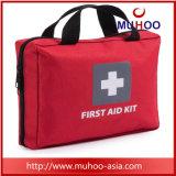 De mini Rode Medische Uitrusting van de Eerste hulp van de Zak voor Auto