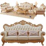 Sofà di cuoio classico con i Governi per la mobilia del salone