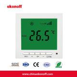 Collegamento dell'elaboratore centrale del termostato della stanza della bobina del ventilatore (S602H1)