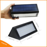 4 modos de iluminación exterior de la luz del sensor de movimiento Solar lámpara solar