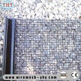 Maglia tessuta acciaio ad alto tenore di carbonio di auto pulizia di stile di m. per lo schermo del setaccio