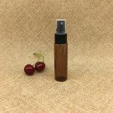 Bottiglia rotonda di plastica 1oz dello spruzzo di profumo di fabbricazione 30ml Brown