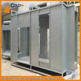 Tipo classico cabina di colore grigio di spruzzo del rivestimento della polvere