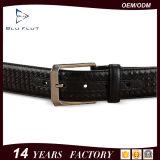 Cinghie di vita Braided del cuoio genuino della pelle bovina di qualità degli uomini personalizzati del regalo