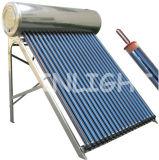 Aço inoxidável de alta qualidade aquecedor solar de água