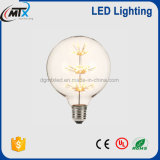 Bulbo decorativo 3W de la serie G80/G125/G150 Epistar LED del globo del LED
