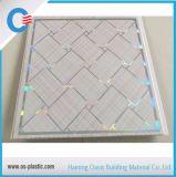 Горячая штемпелюя панель потолка PVC толщины ширины 7mm 300mm