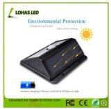 Solari chiari solari della via del LED con senza fili alimentato impermeabilizzano