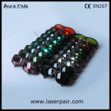 V. óculos de proteção protetores vermelhos de laser de vidros da segurança do laser dos lasers 635nm + dos diodos 808nm do L.T 30% com frame preto 33