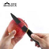 中国のナイフのマットの黒い陶磁器のナイフによってセットされるシェフの調理のツールをカスタマイズしなさい