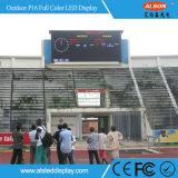 쇼 광고를 위한 LED 스크린 게시판을 서 있는 옥외 P16 DIP346 거리
