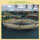 Fil d'acier recouvert de caoutchouc renforcé par une tresse le flexible hydraulique (SAE100 R1-5/16)