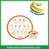 Fördernder faltbarer NylonFrisbee mit Firmenzeichen-Drucken