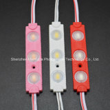 LED 주입 모듈 백색 색깔 70*13L는 3SMD5630 LED 모듈을 방수 처리한다
