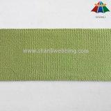 Webbing puro do algodão do verde dos vestuários e dos acessórios dos sacos