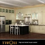 Cucina di legno naturale Tivo-077VW dell'armadio della lavanderia della mobilia dell'hotel del commercio all'ingrosso del grano di alta qualità moderna
