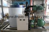 Máquina de gelo quente do floco das toneladas das vendas 10/dia para peixes de congelação