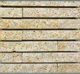 Крытые/напольные белое/серо/красно/черноты/желто камни культуры утеса каменной стены стены гранита/гранита шифера/цемента