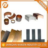 Sopportare le strisce bimetalliche della lastra delle strisce bimetalliche di acciaio del metallo bimetallico bimetallico della lamiera per la boccola bimetallica & la boccola della rondella di spinta