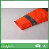 Отражательной куртка проложенная безопасностью для работы зимы напольной