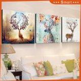 A pintura decorativa dos cervos populares de Sika para a parede