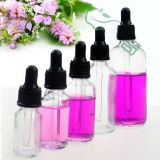 5ml Amber perfume / óleo essencial garrafas de vidro com gotinha de vidro / névoa fina / bomba de pulverização / tampão de parafuso