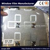 Pellicola autoadesiva della finestra, pellicola decorativa 1.22m*50m di vetro macchiato della finestra della scintilla 3D