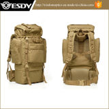 Mountaineering Backpack 11 цвета напольный кладет пакет в мешки поля 65L