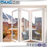 Hochwertige Doppelverglasung-Aluminiumfalz-Tür mit As2047