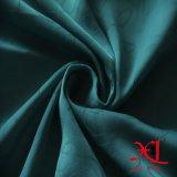 Tissu jacquard en polyester en mousseline de soie pour drap de lit / robe