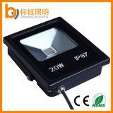 Indicatore luminoso di inondazione esterno di RGB LED del proiettore dell'apparecchio d'illuminazione di illuminazione esterna della PANNOCCHIA 20W