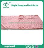 Microfiberのスリップ防止ヨガタオルはタオルを遊ばす