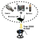 Nouvelle caméra IP Ai-Ball Trek de sécurité sans fil WiFi Mini caméra Web Cam Caméra de Surveillance à distance