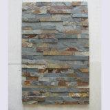 최신 인기 상품 중국 노란 베니어에 의하여 압정으로 고정되는 벽면 슬레이트 돌
