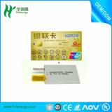 Batería curvada 201030 del polímero del litio del espesor de China 2m m pequeña